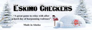 Eskimo Checkers 3D Printed
